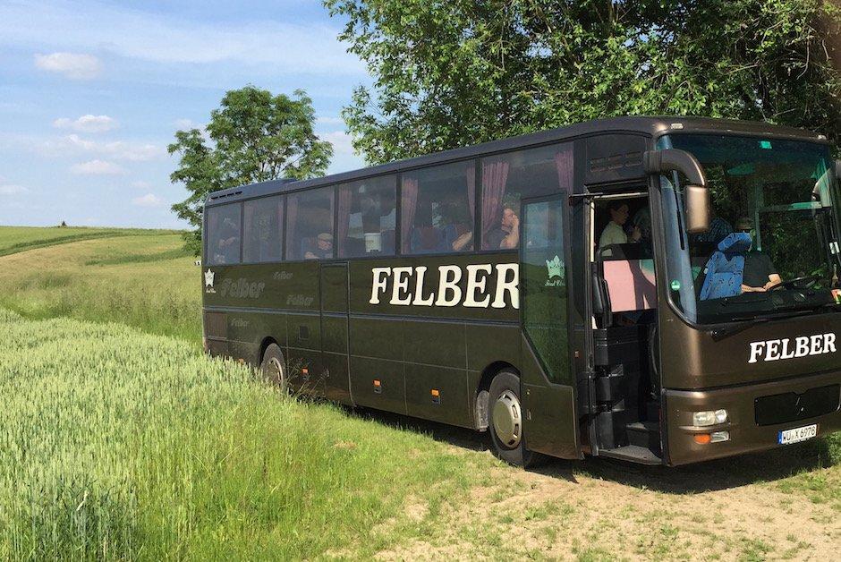 Busrundfahrt Ministerbesuch