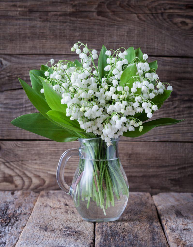 Maiglöckchen Blumenstrauß